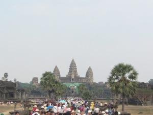 Todos querem visitar o Angkor Wat!