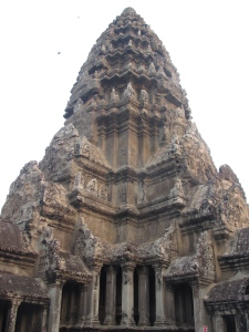 Torre central do Angkor Wat