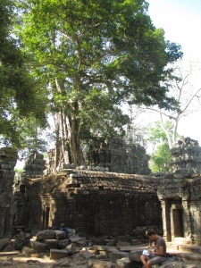 As misteriosas ruínas de Ta Prohm