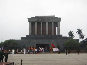 O estilo sóbrio do mausoléu de Ho Chi Minh