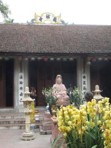 Templo em Hanói