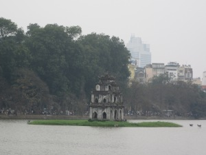 Torre Thap Rua no Lago Hoan Kiem