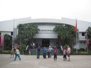Fachada do Museu de Etnologia do Vietnã