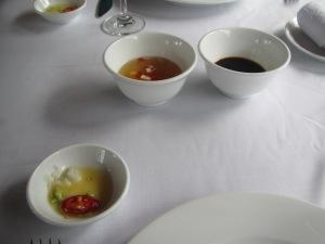 Molhinhos que acompanham as comidas vietnamitas