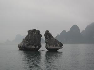 """Ar """"misterioso"""" na Baía de Halong"""