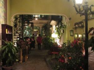 Entrada do restaurante Green Tangerine