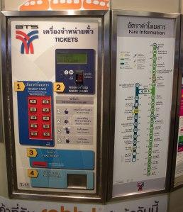 """Máquina para aquisição de """"bilhetes"""" do BTS (imagem obtida em www.thaivisit.org)"""