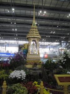 Templo dentro do aeroporto Suvarnabhumi