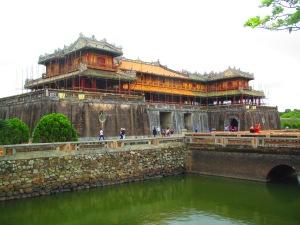 Portão Ngo Mon, uma das entradas da Cidade Imperial