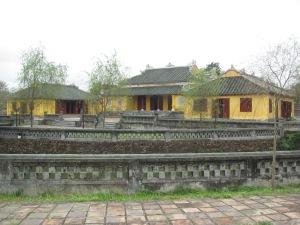 A amarela Residência Truong San