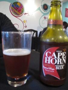 Cerveja Cape Horn: delícia!