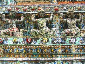 Detalhes do Wat Arun