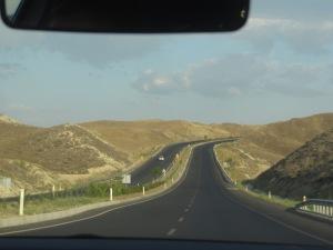 Estrada entre Selçuk e Pamukkale