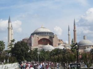 A clássica de İstambul: Aya Sofya