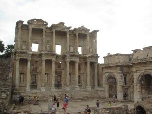 A famosa Biblioteca de Celso em Éfeso