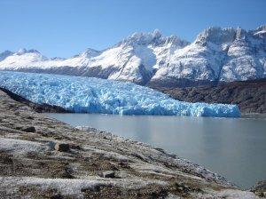 Glaciar Grey (imagem obtida em http://www.panoramio.com/photo/10600373)