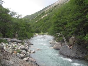 Cruzando o Rio Ascensio