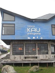 Fachada do Kau Lodge, onde ficamos