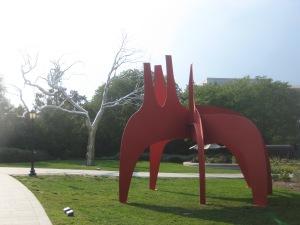 Jardim de esculturas da Galeria Nacional