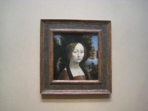 Ginevra de' Benci, de Leonardo da Vinci