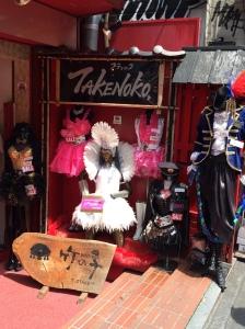 Loja na Takeshita-dori