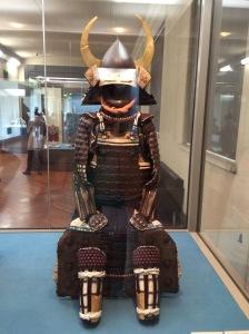 Armadura de samurai no Museu Nacional de Tóquio
