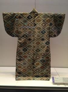 Kimono no Museu Nacional de Tóquio