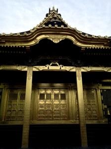 Tosho-gu, um templo dourado dentro do Parque Ueno