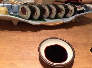 Sushi de bonito