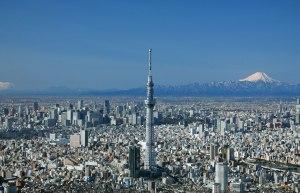 Tokyo Skytree. Imagem obtida em http://www.tokyo-skytree.jp/en/