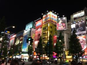 Neons em Akihabara