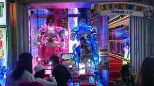 Entrada do Robot Restaurant