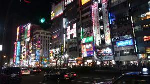 Área Kabukicho em Shinjuku