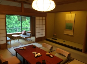 Quarto do ryokan