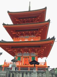 Templo Kiyomizu-dera em Higashiyama