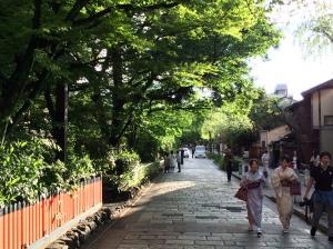 Shirakawa Minami-dori, também conhecida como Shimbashi