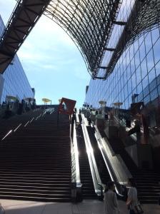 A moderna Kyoto Station