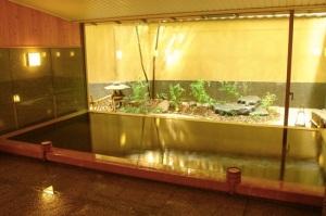 Onsen do nosso ryokan (imagem obtida em http://joshspear.com/)