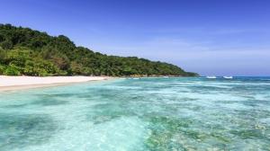 Koh Tachai, na Tailândia (imagem obtida em http://similan-islands.com/koh-tachai/)